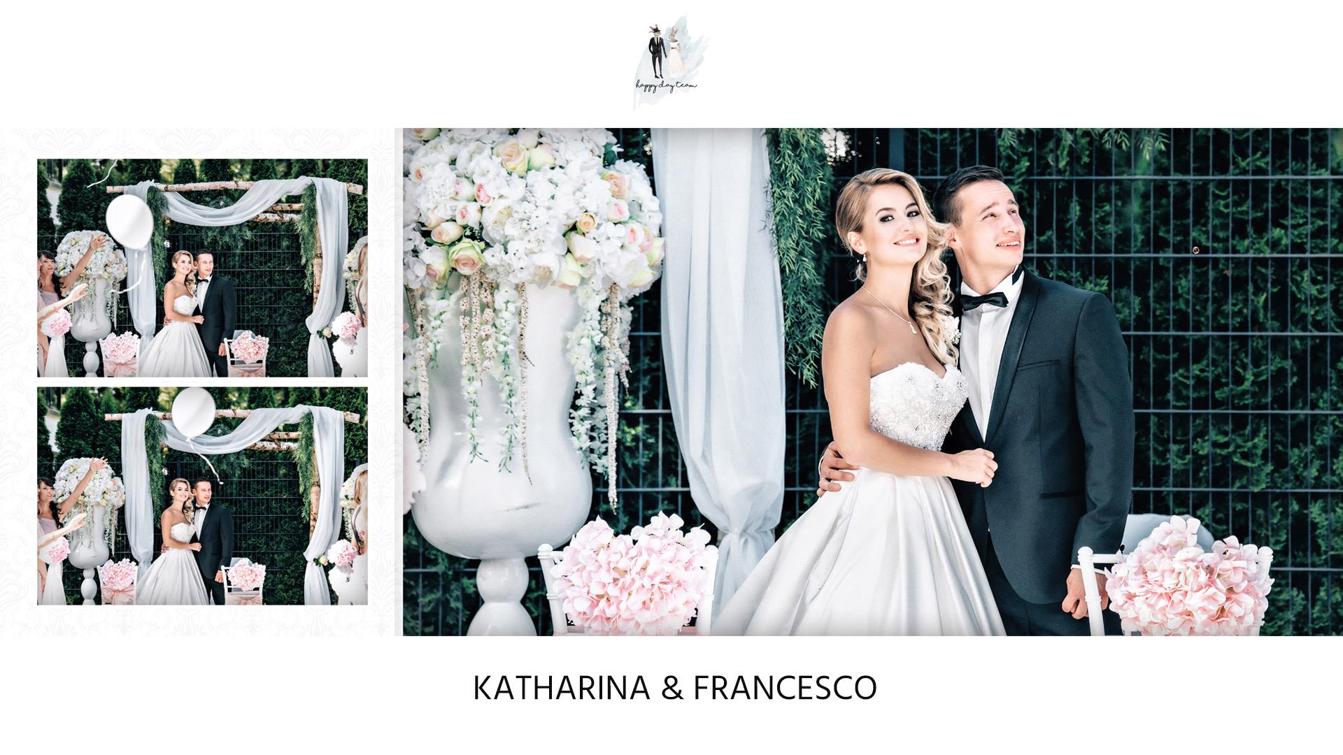 Schone Hochzeit Von Katharina Francesco In Schlosshotel