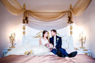 Hochzeitsfotograf Kassel an der Orangerie im Auepark in Kassel fotografisch begleitet